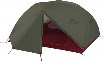 MSR ELIXIR 3 Lightweight Backpacking Tent Green updated 2018