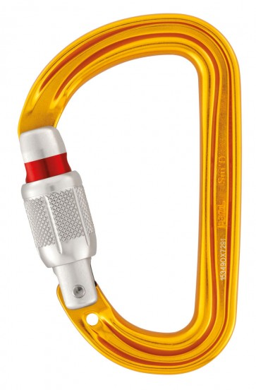 Petzl SM'D Screw Gate Climbing Carabiner