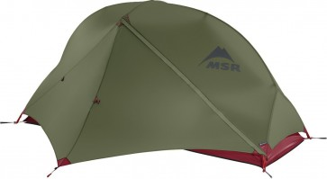 MSR Hubba NX Solo Backpacking lightweight tent in Green