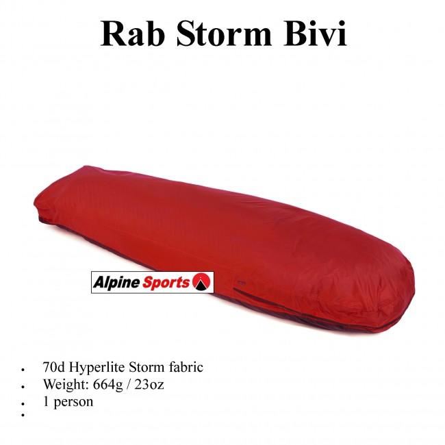 Rab Storm Bivi - Bag Shelter Bivvi tent  sc 1 st  Alpine Sports & Storm Bivi - Bag Shelter Bivvi tent