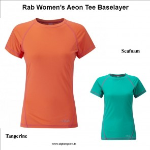 Rab Women's Aeon Tee Baselayer