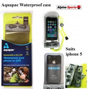 Aquapac Mini Electronic waterproof Case, phone, iphone or GPS with lanyard