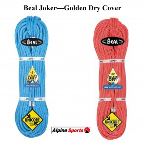Beal Joker 9.1mm Dynamic Rope Super Golden Dry Cover