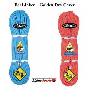 Beal Joker 9.1mm Dynamic Rope Super Golden Dry Cover