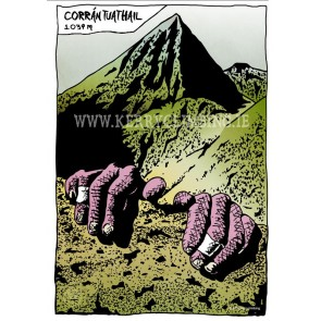 'Kerry Climbing' A3 Poster