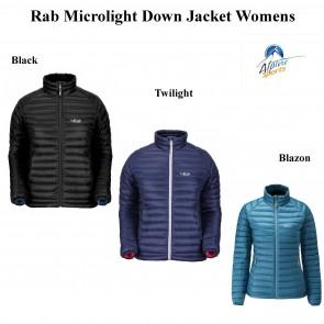 Rab Microlight Down Jacket Womens