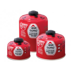 Screw Top MSR® ISOPRO™ Canister for Camping Gas stoves