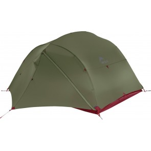 MSR Mutha Hubba NX Lightweight 3 Person Backpacking Tent in Green