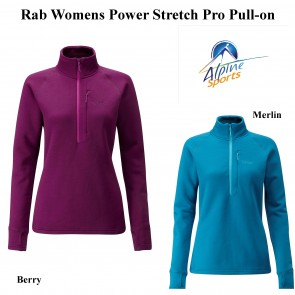 Rab Womens Power Stretch Pro Pull-On
