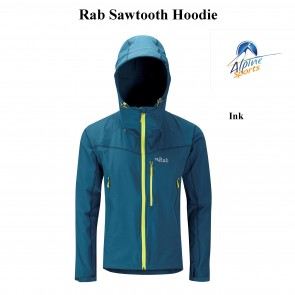 Rab Sawtooth Hoodie Softshell Jacket Ink