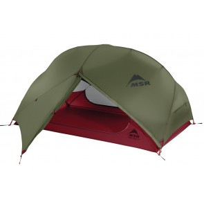 MSR Hubba Hubba NX Lightweight 2 person backpacking tent in Green
