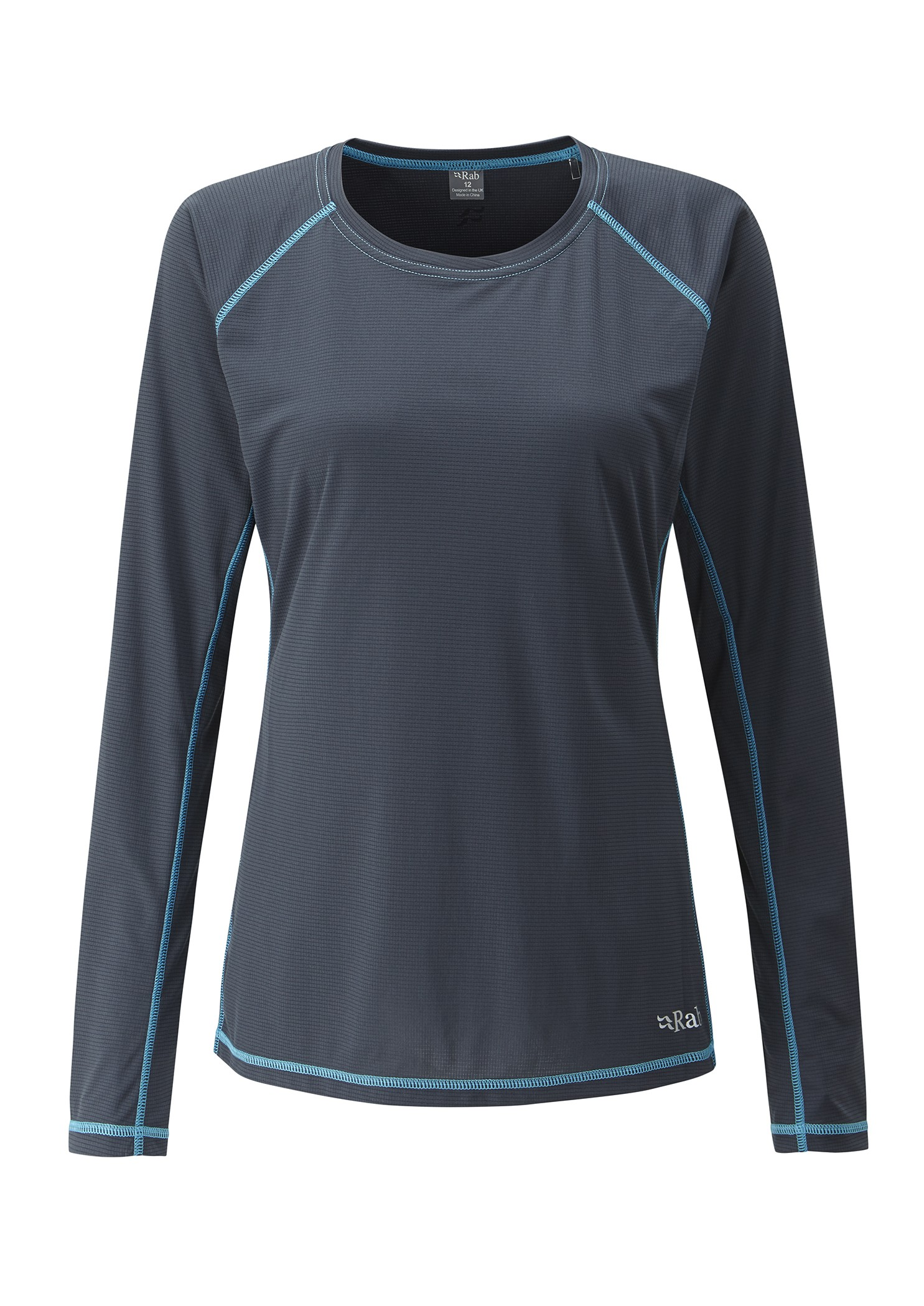 Rab-Femmes-Interval-Tee-Sous-Pull-Manches-Longues-Haut
