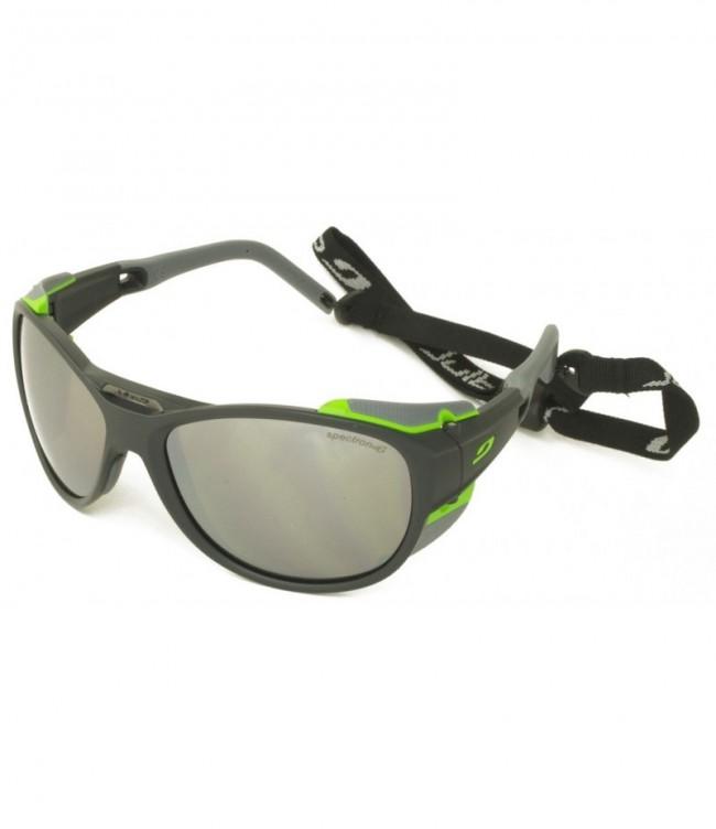 23a1169721a1 Julbo Explorer Sun Glasses 2.0 Black-Green Frame
